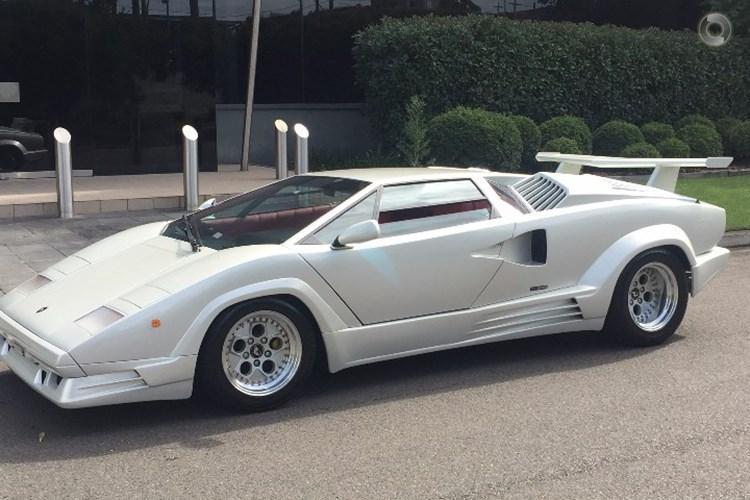 1989 Lamborghini Countach 25th Anniversary Manual